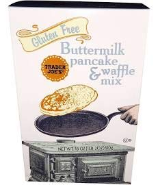 Trader Joe#039s Gluten Free Buttermilk Pancake amp Waffle Mix 18 oz Pack of 2