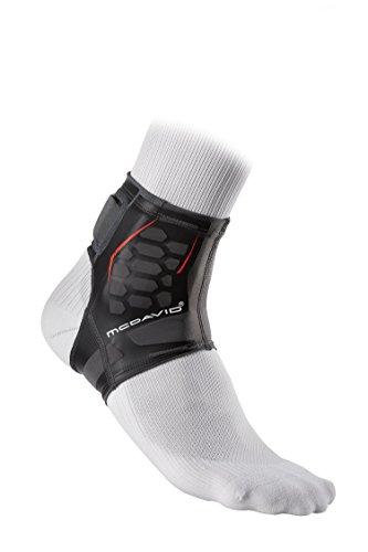 McDavid Runners Therapy Achilles Sleeve, Black, Medium