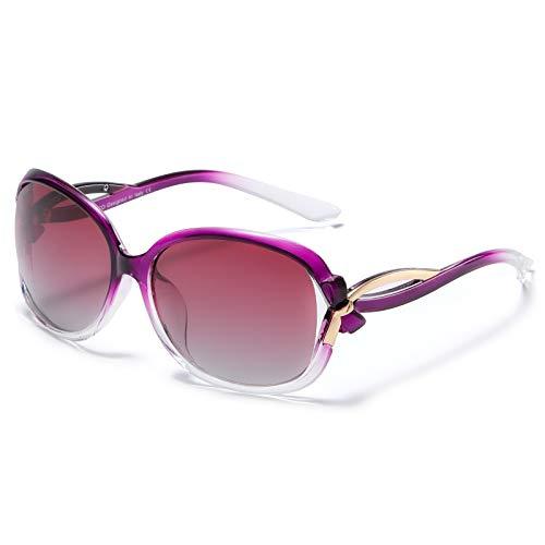 DUCO da donna alla moda occhiali da sole polarizzati Star occhiali 100% protezione UV 2229