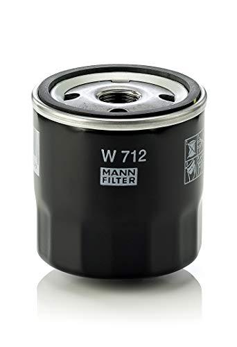 Original MANN-FILTER Ölfilter W 712 – Entlüftungs- & Hydraulikfilter – Für PKW und Nutzfahrzeuge