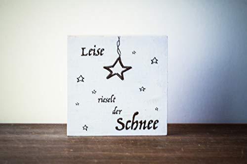 Sterne Weihnachtsdeko Weihnachten modern minimalistisch Merry Christmas Geschenk Wichteln Weihnachtsdekoration Shabby-Stil gifts gift for her handmade
