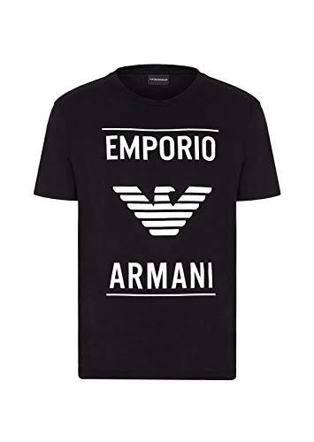 Emporio Armani 6G1TE7.1JNQZ 0999 Nero T-Shirt Uomo M