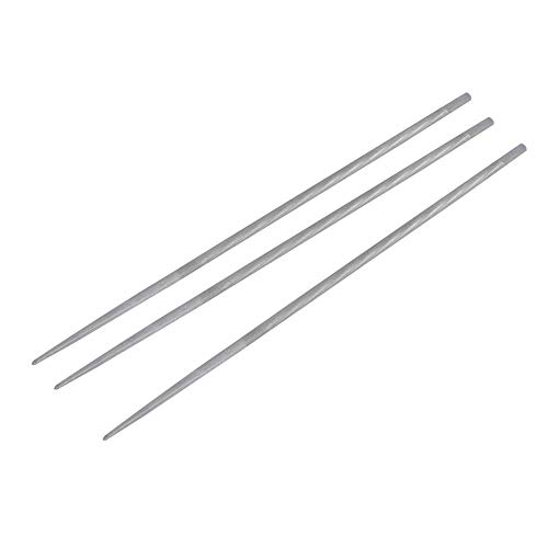 Wifehelper 3 stuks 3/16in 4,8 mm houtbewerking kettingzaag kettingslijper File Tool Accessory Kit