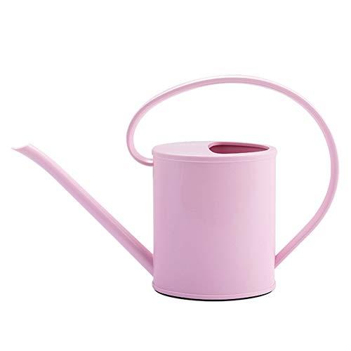 1.5L tuin gieter met grote capaciteit, huishoudelijke indoor gieter met lange neus, plastic gieter tuingereedschap,Pink