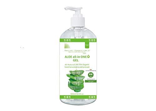 Aloe Plus Vera Juice Hydrator, 99,8% Aloe organica fresca per dry, sunburned e capelli irritati – Premium Quality – by Secret Essentials