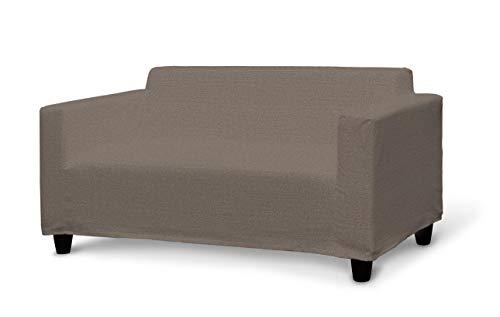 Dekoria Klobo Sofabezug Sofahusse passend für IKEA Modell Klobo braun