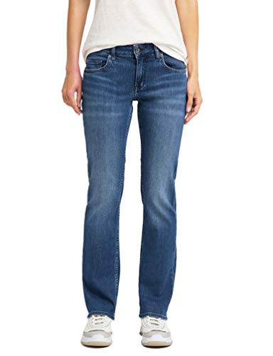 MUSTANG Damen Sissy Straight Jeans, Blau (Medium Middle 502), 31W 32L EU
