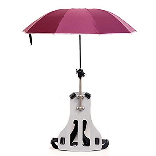 Sombrilla Tipo Espalda Al Aire Libre Doble Hombro Protección Solar Trabajo De Lluvia Sombrilla Plegable Sombrilla De Pesca para Recoger Té