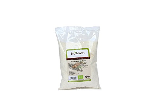 Bionsan Harina de Cebada - 6 Paquetes de 500 gr - Total: 3000 gr