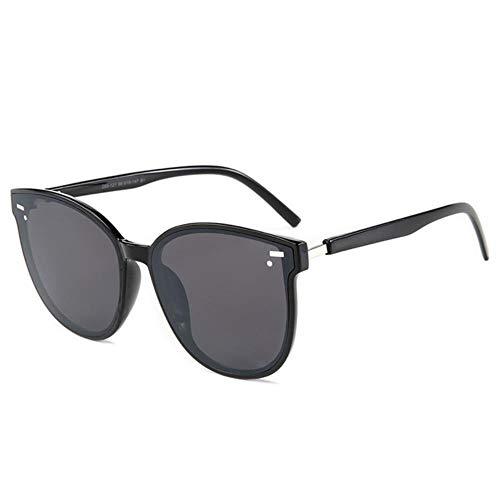 SELLM Squar Gafas de Sol Mujer Dise?o de Marca Espejo de Recubrimiento Lady Sunglass Gafas de Sol Femeninas para Mujer Gafas, C1