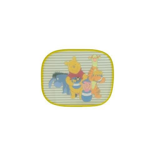 les colis noirs lcn Lot 2 Pare Soleil Disney Winnie l'ourson - Accessoire Auto - 048