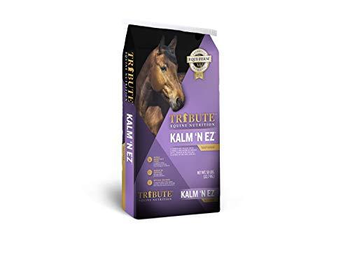 TRIBUTE Kalmbach Feeds Kalm 'N Ez Textured for Horse, 50 lb