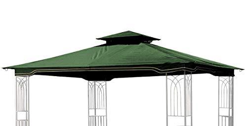 Sunjoy Replacement Gazebo Canopy for 10 x 12 Regency II Patio Gazebo, Hunter Green
