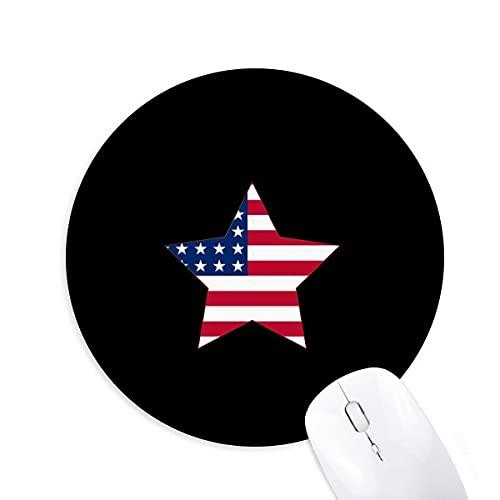 Drapeau des tats - Unis Tapis de bureau confortable pour tapis de souris