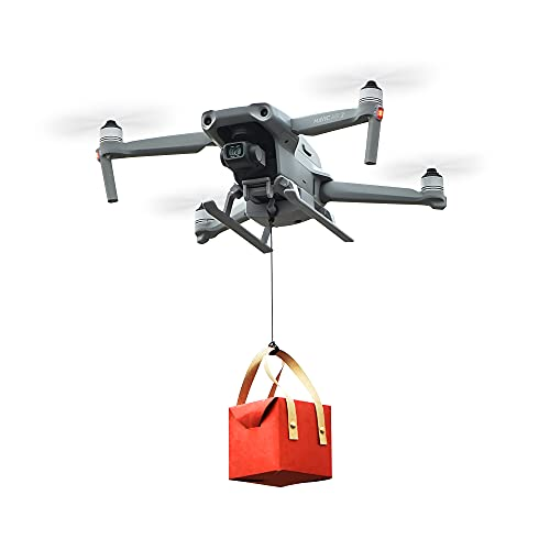 YueLi Drone Airdropper Wedding Clip Delivery Drone Fishing Bait Search Transport Device for DJI Mavic air 2/air 2s Accessories