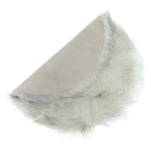Flameer Faux lamsvacht schapenvacht tapijt kunstbont decoratiebont wol bedmatje sofa mat voor bank stoel auto bed kantoor