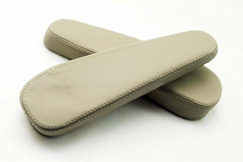 DSV Fits 2003-2009 Lexus RX 300 330 350 Real Tan-Second Gen Leather Seat Armrest Covers (Leather Part Only)