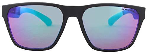 Basta KONZY Sonnenbrille Black Matte/Blue Green Mirror