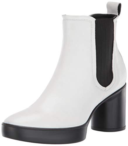 ECCO Damen Shape Sculpted Motion 55 Ankle Chelsea, Stiefel, Bright White, 40.5/41 EU