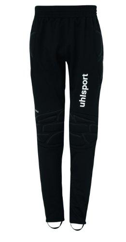 Uhlsport - Standard Goalkeeper - Pantalon de gardien de but - Mixte Enfant - Noir - FR: 116 (Taille Fabricant: XXXS / 6 ans)