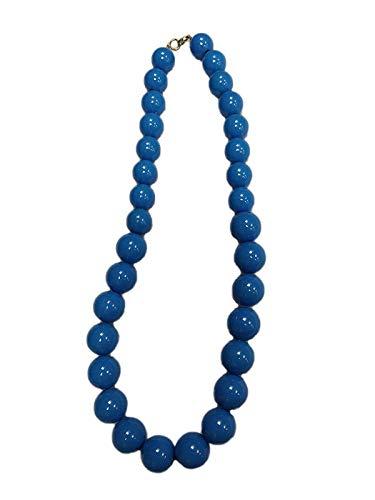 DISBACANAL Collar andaluza Adulto - Azul, Unica