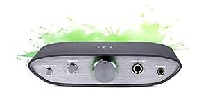 iFi ZEN DAC V2 - Desktop Digital Analog Converter With USB 3.0 B Input only / Outputs: 6.3mm Unbalanced / 4.4mm Balanced / RCA - MQA DECODER - Audio System Upgrade (Unit only)
