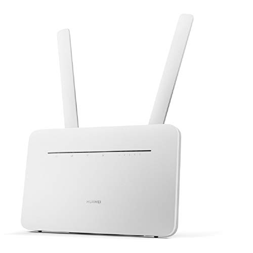 Huawei Wi-Fi Router B535 WiFi Sim Card Router Hotspot Unlocked 4G LTE CPE Cat 7 300 Mbps Mobile WiFi (3G 4G LTE in Europe, Asia, Middle East, Africa) (White)
