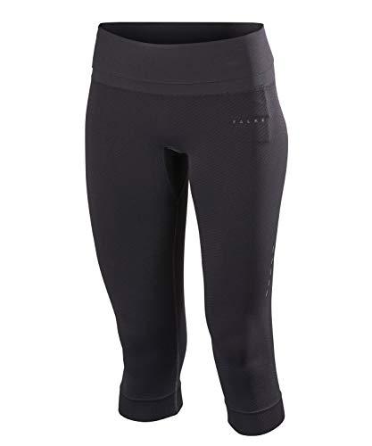 FALKE Damen Running 3/4 Tights Light Women Sporthose, Schwarz (Black 3000), S