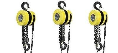 Neiko 02182A Chain Hoist Winch Pulley Lift, 1 Ton   15 Feet
