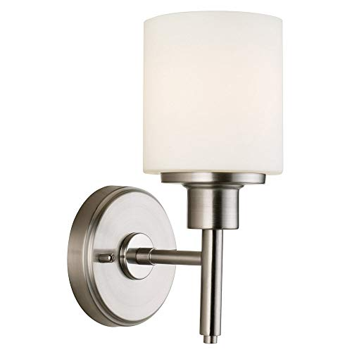 Design House Aubrey, Incandescente, 1-Light Wall Light, Incandescent