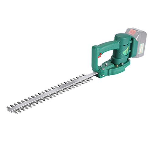Find Discount Maniny 21v Lithium-ion Hedge Trimmer Kit, 800w Trimmer,36.5 cm Blade, Speed: 1500s/m...