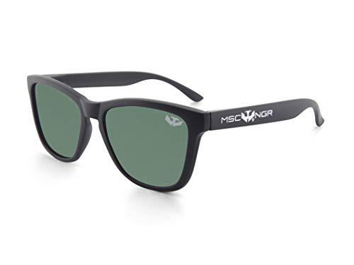 Gafas de sol MOSCA NEGRA ® modelo ALPHA SPLASH Matte Black - Polarized