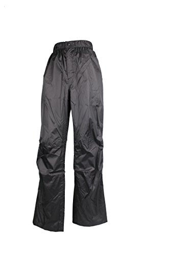 Tchibo TCM Damen Herren Regenhose hochwertig schwarz S