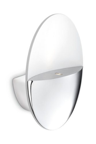 Philips 332891116 Ledino Applique LED Aluminium Chrome 2 x 2,5 W