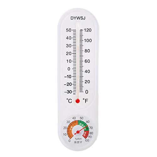 Indoor Outdoor muur Hung Thermometer Hygrometer Tuin Kantoor Temperatuur Logger
