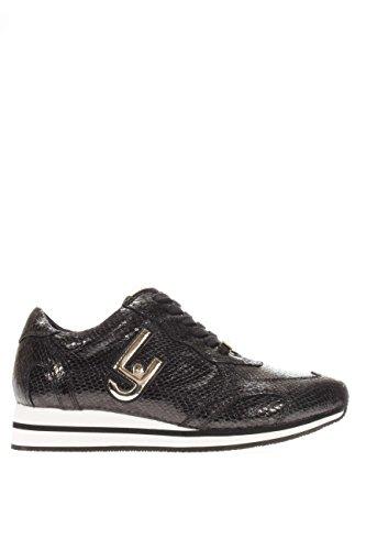 Liu Jo Sneaker Vrouwen Glicine Hardlopen Actie Pitone Black_35