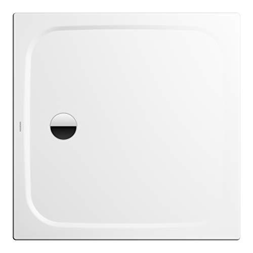 Kaldewei Duschwanne Cayonoplan Modell 2258-1 100 x 100 x 1,8 cm, Ablaufloch Ø 9,0 cm, alpinweiß matt mit Secure Plus