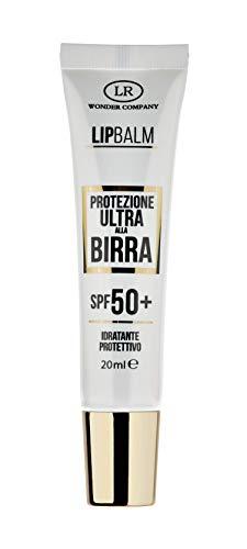 Lip Balm, protezione labbra ULTRA alla Birra, protegge da sole e vento, protezione solare spf 50+ (1x20ml) - LR Wonder Company