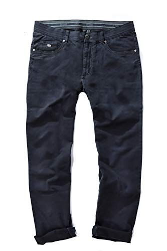 JP 1880 Homme Grandes Tailles Jean 5 Poches, Coupe Confortable Bleu Marine foncé 54 717157 76-54