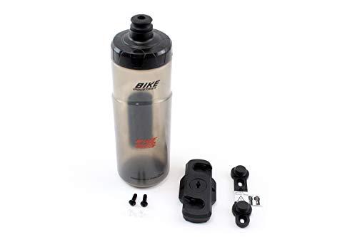 KTM Trinkflasche/Trinkflaschen Set grau/schwarz inkl. Halterung Fidlock 600 Hydravalve