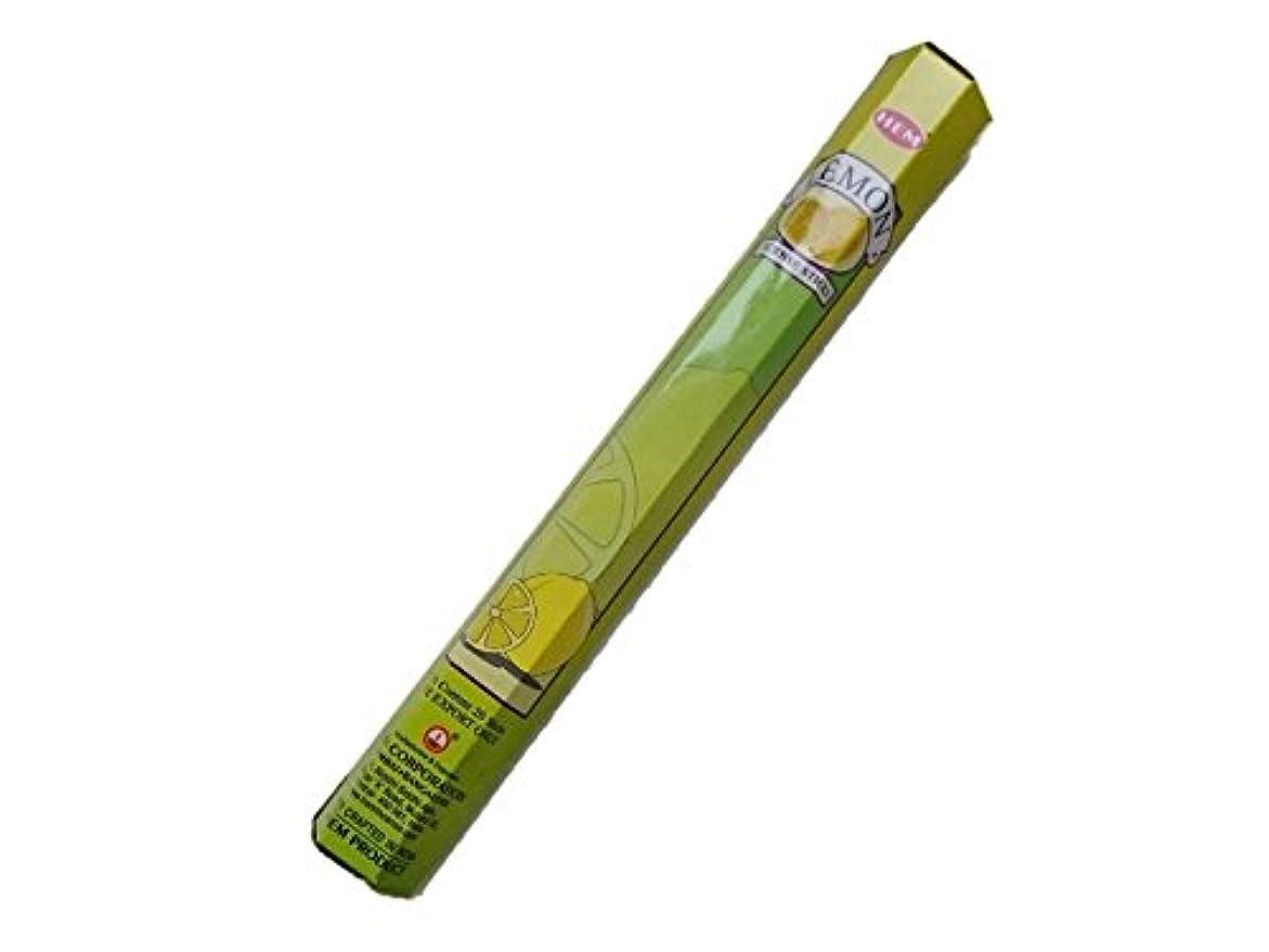 針保存する終点HEM(ヘム)お香:レモン スティックお香/インセンス/1箱
