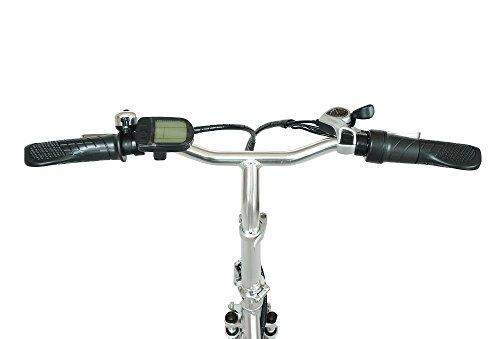 swemo 20 Zoll Alu Klapp E-Bike/Pedelec SW100 (Silber) Bild 4*