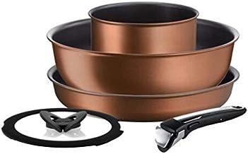 Tefal L67595 Ingenio Resource Cookware 5 Piece Set, Brown
