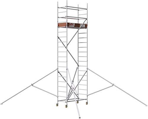 ALTEC Rollfix 2.0 600-S, Arbeitshöhe 6 m neu, inkl. Rollen (Ø 125 mm) und 4 Dreieckausleger
