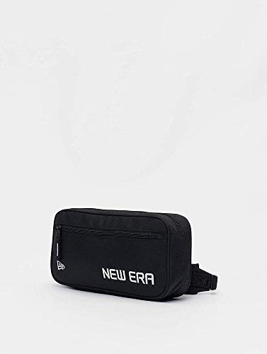 New Era Cross Body Bag Ne Blk Sac Banane Unisexe pour Adulte Noir Taille Unique