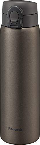 ピーコック魔法瓶工業 マグボトル ブラウン 0.6L ステンレスボトル マグタイプ AKF-60 T