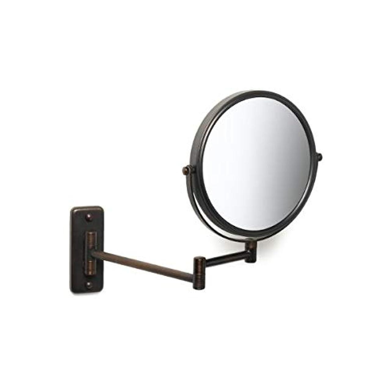 過激派観点コーヒーJerdon(ジェルドン) / JP7506BZ (ブロンズ) 《拡大鏡》 [鏡面 直径20cm] 【5倍率/等倍率】 壁面取付型ミラー