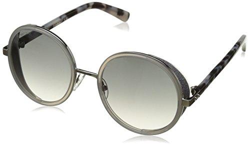 Jimmy Choo Damen ANDIE/S IC J7L 54 Sonnenbrille, Grau (PLD Grey Hvn/Grey Mesh SLV)