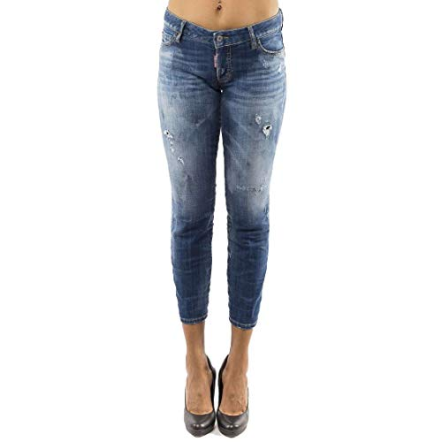 DSquared Pantalone 5 tasche - 44, BLUE
