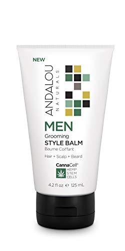Andalou Naturals CannaCell MEN Grooming Style Balm, 4.2 Ounces